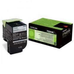 Toner noir haute capacité Lexmark pour CS310 / CS410 / CS510 .... (702HK)
