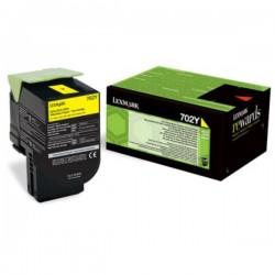 Toner jaune Lexmark pour CS310 / CS410 / CS510 .... (702Y)
