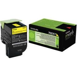 Toner jaune Très haute capacité Lexmark pour CS510 .... (702XY)