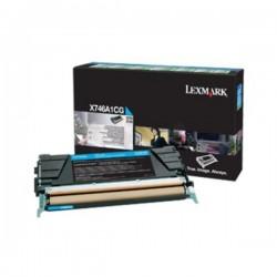 Toner cyan Lexmak X746de / X748 (Alt. X746A2CG)