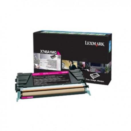 Toner magenta Lexmak X746de / X748 (Alt. X746A2MG)