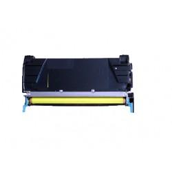 Toner jaune générique pour Lexmak X746de / X748