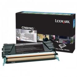 Toner Lexmark Noir Haut Rendement LRP pour gamme C746 / C748
