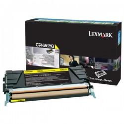 Toner Jaune Lexmark LRP pour gamme C746 / C748