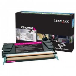 Toner Magenta Lexmark LRP pour gamme C746 / C748