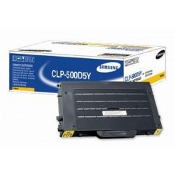 Toner Laser Samsung CLP500D5Y Jaune