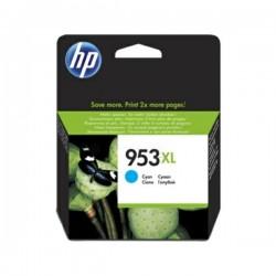Cartouche jet d'encre Cyan Haute capacité HP pour Office Jet Pro 8210/ 8720/ 8740 ... (N°953XL)