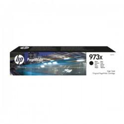 Cartouche jet d'encre Noir Haute Capacité HP pour PageWide : Pro 452dw / 477dw ....(N°973X)