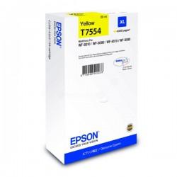 Cartouche d'encre jaune XL pour Epson WorkForce Pro WF-8010DW/ 8090DW .....