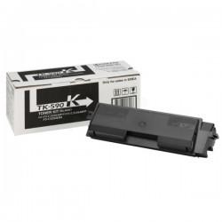Toner noir Kyocéra pour FS-C2016mfp / FS-C2026mfp / FS-C2126mfp ... (TK-590BK) (1T02KV0NL0)