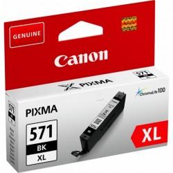 Cartouche Encre Noire Photo Haute capacité (CLI-571BK XL ) pour Canon Pixma MG 5750 / MG 6850...