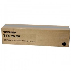 Toner noir Toshiba pour e-studio 2040C / 2540C / 3040C / 3540C / 4540C (6AJ00000075) (T-FC25EK)