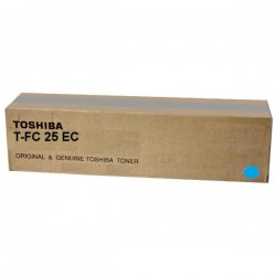 Toner cyan Toshiba pour e-studio 2040C / 2540C / 3040C / 3540C / 4540C (6AJ00000072) (T-FC25EC)
