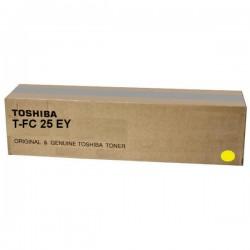 Toner jaune Toshiba pour e-studio 2040C / 2540C / 3040C / 3540C / 4540C (6AJ00000081) (T-FC25EY)