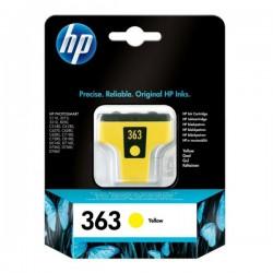 Cartouche jaune HP pour photosmart 3110 ... (N°363)