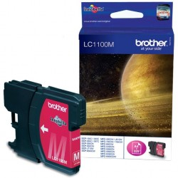 Cartouche magenta Brother pour MFC-6490CW / DCP-6690CW / DCP585CW (LC1100M)