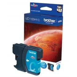 Cartouche cyan Haute capacité Brother pour MFC-6490CW (LC1100HYC)