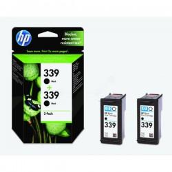 Pack 2 Cartouches Noire HP Grande Capacité pour Deskjet 5740 ... (N°130/N°339)