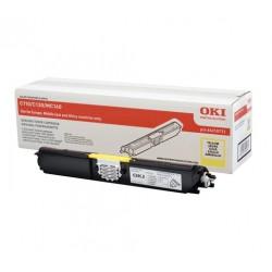 Toner jaune Oki Haute capacité pour C110 / C130 / MC160n