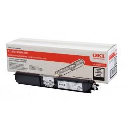 Toner noir Oki Haute capacité pour C110 / C130 / MC160n