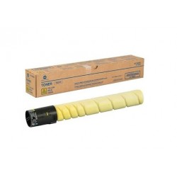 Toner jaune Konica Minolta pour Bizhub C224 (TN321Y)