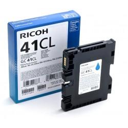 Cartouche d'encre cyan basse capacité Ricoh pour Aficio SG3110dnw (GC-41CL)