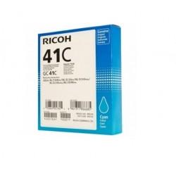 Cartouche d'encre cyan haute capacité Ricoh pour Aficio SG3110dnw ... (GC-41C)