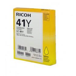 Cartouche d'encre jaune haute capacité Ricoh pour Aficio SG3110dnw ... (GC-41Y)