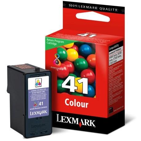 Cartouche couleur N°41 Lexmark pour Z1520 / X4850 ...