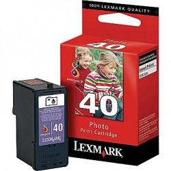 Cartouche photo noir Lexmark pour X6570 / X9350 (N°40)