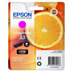 Cartouche Magenta Epson pour Expression Premium XP-630 / XP-830 ... (n°33 - orange) (C13T33434012)