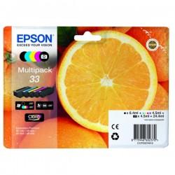 Multipack 5 couleurs pour Expression Premium XP-630 / XP-830 ... (n°33 - orange) (C13T33374011)