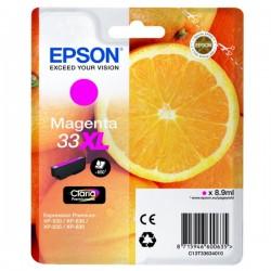 Cartouche Magenta Epson Haute Capacité pour Expression Premium XP-630 / XP-830 ... (n°33XL - orange) (C13T33634012)