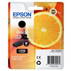 Cartouche Noire Epson Haute Capacité pour Expression Premium XP-630 / XP-830 ... (n°33XL - orange) (C13T33514012)