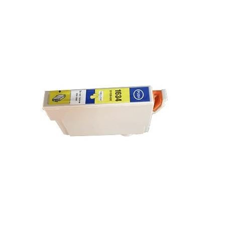 Cartouche jaune haute capacité générique pour Epson WorkForce WF-2010w / WF-2520nf ... (N°16XL - Plume)