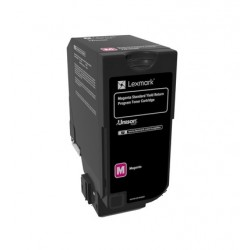 Cartouche de toner Return Program Magenta LEXMARK pour CS720 CS725, CX725  Standard (7K)