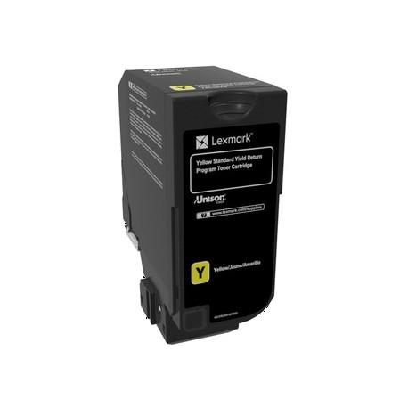 Cartouche de toner Return Program Jaune LEXMARK pour CS720 CS725, CX725  Standard (7K)