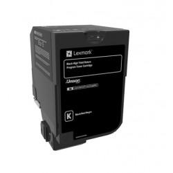 Cartouche de toner Return Program Noire LEXMARK pour CS720, CS725, CX725 Haute Capcité (25k)