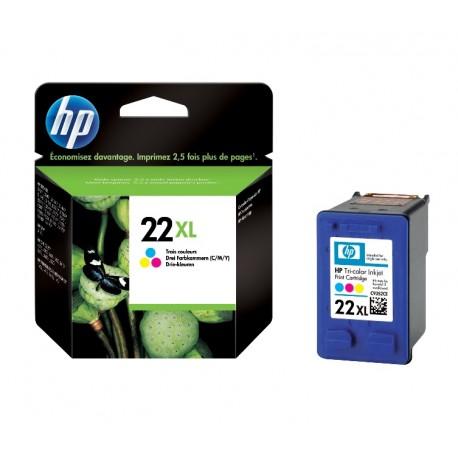 Cartouche couleur HP pour Deskjet 3910 ...  (N°22XL)