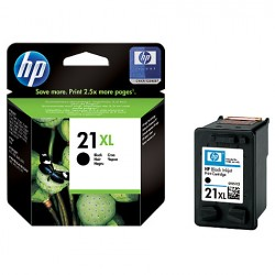Cartouche Noire HP pour DeskJet 3910 ... (N°21XL)