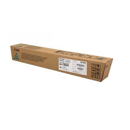 Toner Cyan Ricoh pour Aficio MP C4503 / MP C5503 / MP C6003