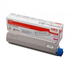 Toner magenta Oki pour MC860dn / MC860cdtn / MC860cdxn