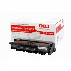 Toner noir Oki pour MB260, MB280, MB290
