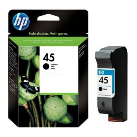 Cartouche Noire HP n°45 Grande Capacité pour Deskjet 750...