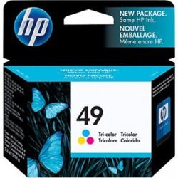 Cartouche 3 Couleurs HP n°49 Grande Capacité pour Deskjet 350 ... (N°49)