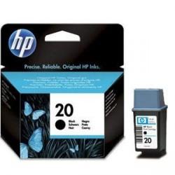 Cartouche Noire HP pour Deskjet 610C (N°20)