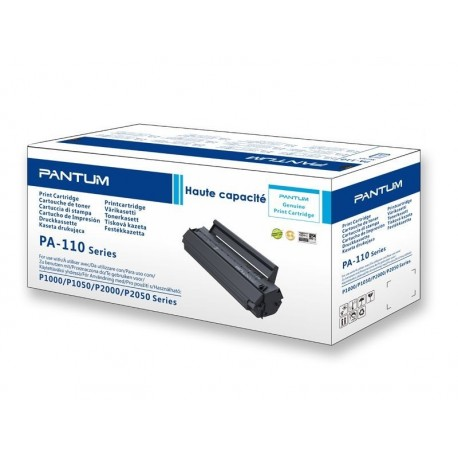 Toner noir haute capacité Pantum pour P2000 et P2050 (PA-110H)