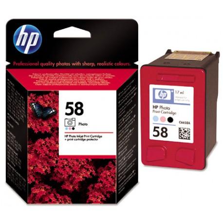 Cartouche Photo HP pour Deskjet 3600 ...  (N°58)