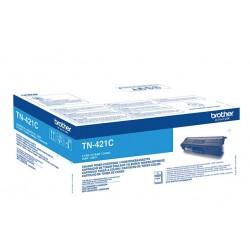 Toner cyan Brother pour DCP L8410/ HL L8260/ MFC L8690 ... (TN421C)