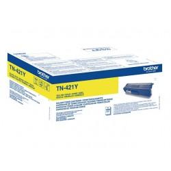 Toner jaune Brother pour DCP L8410/ HL L8260/ MFC L8690 ... (TN421Y)